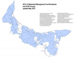 Watershed Associations of PEI